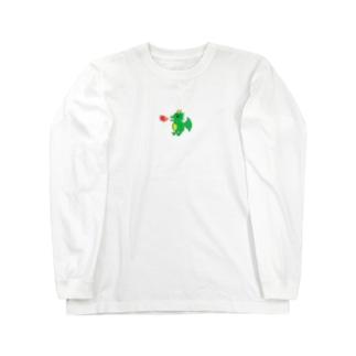 ドットドラゴンTシャツ Long sleeve T-shirts