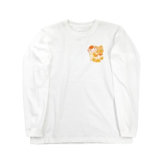 もぐぶーみかん Long sleeve T-shirts