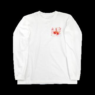 P-PiGのもぐぶーさくらんぼ Long sleeve T-shirts