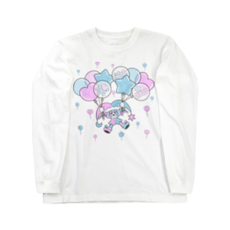 Floating on a Balloon Long sleeve T-shirts