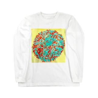 キラキラ、 Long sleeve T-shirts