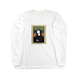 もな・りざ Long sleeve T-shirts