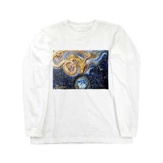 宝珠の地球 Long sleeve T-shirts