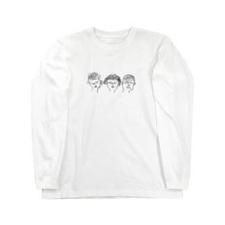 ヒトフデガキヒト Long sleeve T-shirts