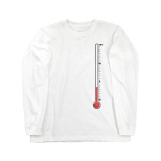 温度計・低温 Long sleeve T-shirts