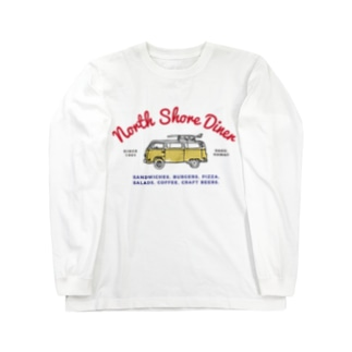 North Shore Diner〈Wagen〉 Long sleeve T-shirts