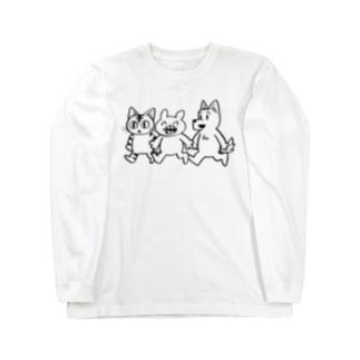 マジオチくんとお友達 Long sleeve T-shirts