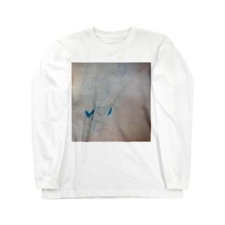 ミネタのミッキーマウス Long sleeve T-shirts