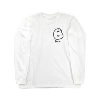 ゆるい血液型(B型-黒) Long sleeve T-shirts