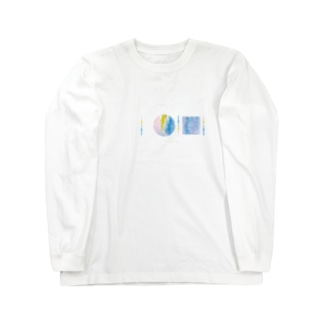 「AWAI KO I」SUZURI限定アイテム / 001 (文字柄アリ) Long sleeve T-shirts