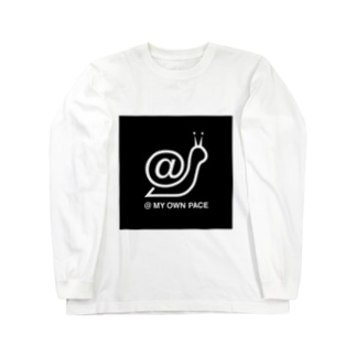 @ MY OWN PACEの@ MY OWN PACE Long sleeve T-shirts