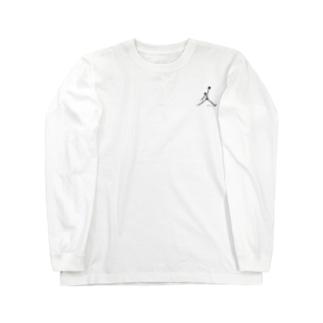 骸骨ダンク Long sleeve T-shirts