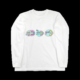 世紀末事件の世紀末お魚市場 Long sleeve T-shirts
