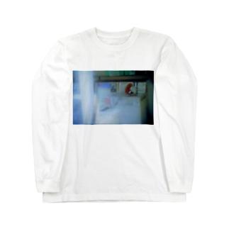 コインランドリーの存在意義 Long sleeve T-shirts