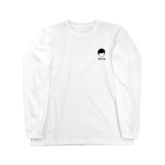 kuro 黒 Long sleeve T-shirts