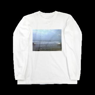asamiの9月の雨の海 Long sleeve T-shirts