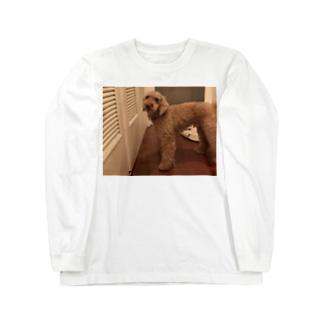 キモイ犬 Long sleeve T-shirts