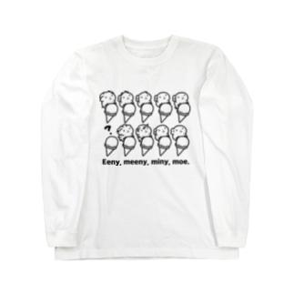 Eeny, meeny, miny moe. Long sleeve T-shirts