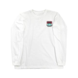 温泉紋章 Long sleeve T-shirts