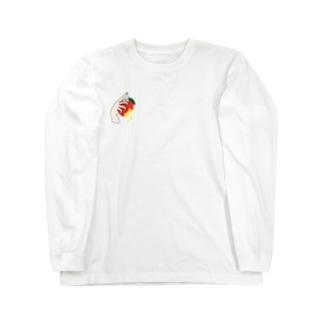りんご Long sleeve T-shirts
