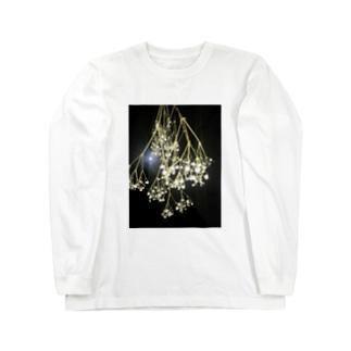 かすみ草 Long sleeve T-shirts