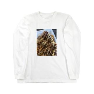 たこ焼き Long sleeve T-shirts