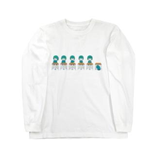 机ちゃんズ Long sleeve T-shirts