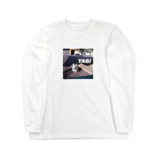 YAGI for ヤギサン Long sleeve T-shirts