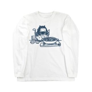 なまはげのこどもときりたんぽ Long sleeve T-shirts