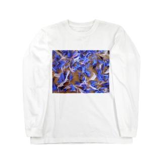 天使の羽 ひらひら Long sleeve T-shirts