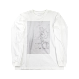 蟹ガール Long sleeve T-shirts