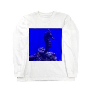 Seahorse  〜タツノオトシゴ〜 Long sleeve T-shirts
