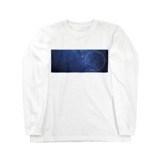 9月の星座盤 Long sleeve T-shirts