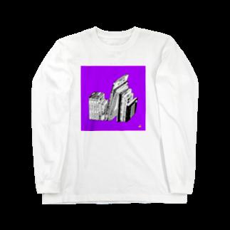 中村香月のある書架 Long sleeve T-shirts