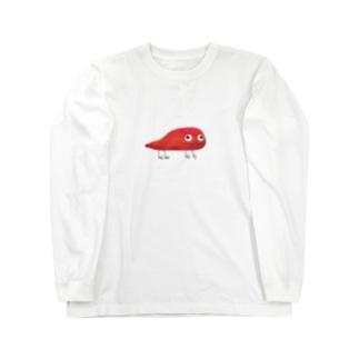 アカサピ Long sleeve T-shirts