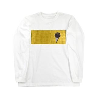 チョコバナナ Long sleeve T-shirts