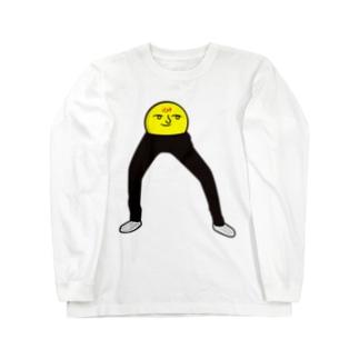 足長ぽんぽんさん Long sleeve T-shirts