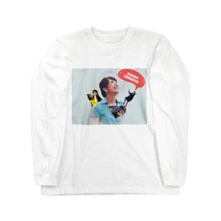 ルリ子親衛隊 Long sleeve T-shirts