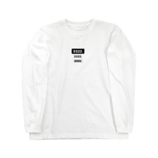 3322.3322.3322 Long sleeve T-shirts