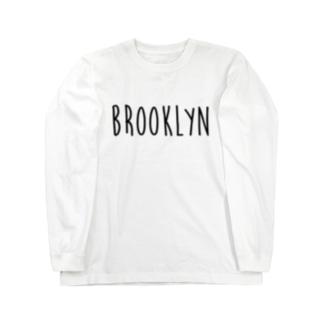 ブルックリン Long sleeve T-shirts