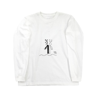 ク/ロ Long sleeve T-shirts
