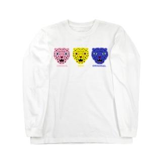 ヒョヒョヒョウ Long sleeve T-shirts