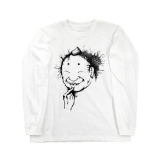 安倍平men Long sleeve T-shirts