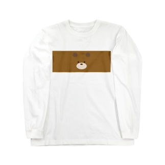 くま Long sleeve T-shirts
