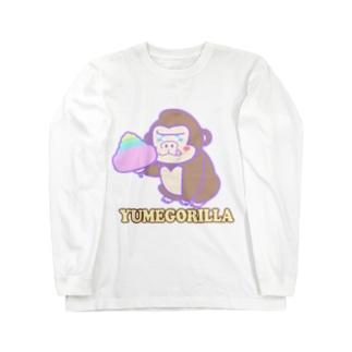 YumeGorilla(ゆめごりら)グッズ Long sleeve T-shirts