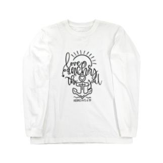 Love anchors the soul Long sleeve T-shirts