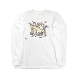 Mokkinテーブル Long sleeve T-shirts