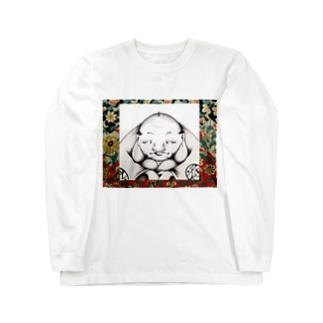福助 Long sleeve T-shirts
