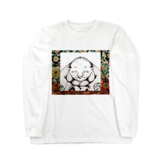 福助 Long sleeve T-shirts