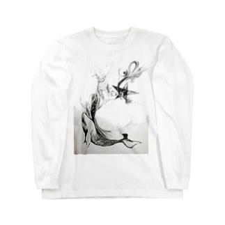 勇魚のうたたね Long sleeve T-shirts